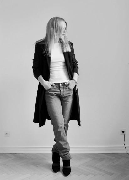 Jeans / Rippshirt